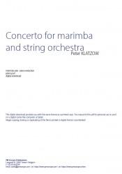 Klatzow, Concerto for...