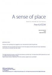 Klatzow, A sense of place...
